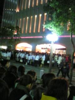 東京宝塚劇場前から